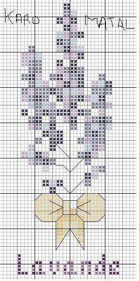 Grille lavande centerblog - Point de croix grille gratuite a imprimer ...